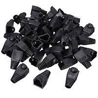 Rj45 Kılıf Siyah 100 adet