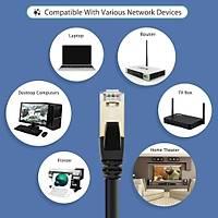 CAT8 RJ45 Ethernet Network Patch Kablo 1 Metre