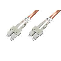 SC-SC Fiber Optik Patch Kablo, 3 metre, Multimode, 3.0mm Duplex, 50/125, OM 2