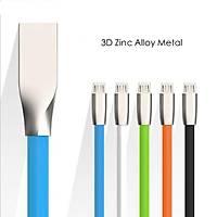 Metal Başlıklı Micro Usb Şarj Data Kablosu