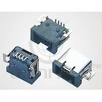 Mini USB 4 Pin Dişi Kart Tipi