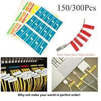 Kablo İşaretleme Etiketi Yapışkanlı 300 adet