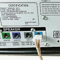 Sony ve Samsung Ev Sinema Sistemi Hoparlör Kablo Çeviricisi 2 adet
