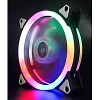 Gökkuşağı Ledli RGB Kasa Fanı 12cm