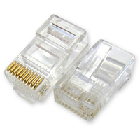 10 pin RJ45 konnektör