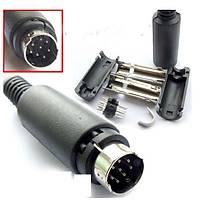 8 Pin Mini Din Kablo 1.8 mt (ses sistemleri için )