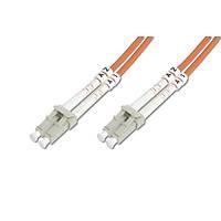 LC-LC Fiber Optik Patch Kablo, 15 metre, Multimode, 3.0mm Duplex, 50/125, OM 2
