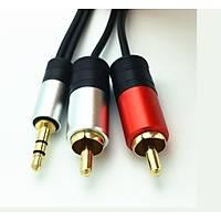 1 Stereo 2 Rca Kablo 1.5 metre kaliteli