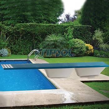 TRAMPLEN 50x400x38 cm WTF400.B MODEL WATERFUN
