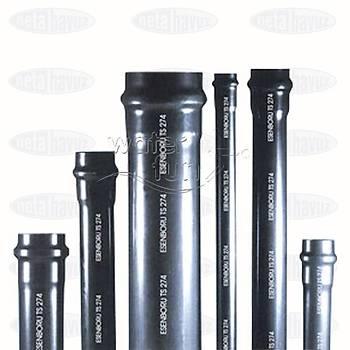 PVC BORU 125mm 10 ATÜ - 3 metre