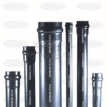 PVC BORU 75mm 10 ATÜ - 3 metre