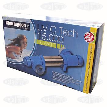 UV CÝHAZI BLUE LAGOON UV-C TECH 15.000/16W 230V 50 Hz