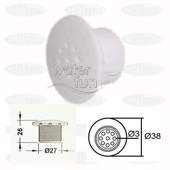 DOKUZ DELÝKLÝ NOZUL BEYAZ WF-2211B WATERFUN