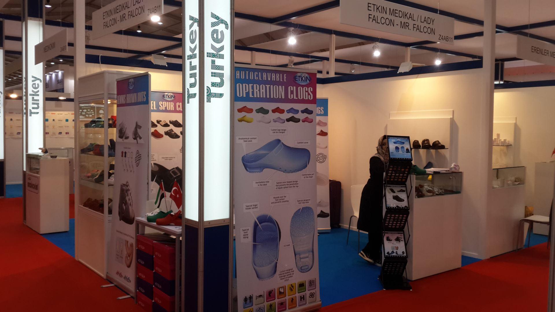Falcon Etkin Medikal Arab Health 2015