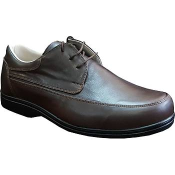 Şeker Hastalığı İçin Diyabet Ayakkabısı Erkek Kahverengi OD52F