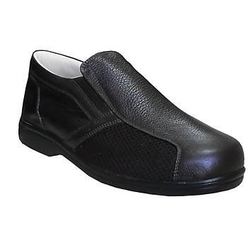 Ortopedik Yazlık Diyabet Ayakkabısı Erkek Kahverengi ODY53F