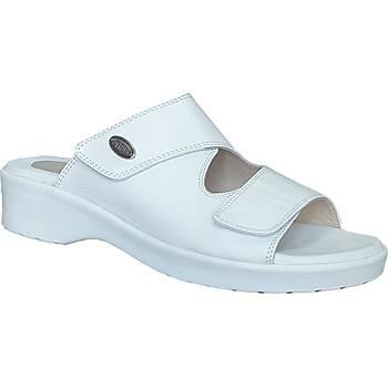 Topuk Dikeni Terlikleri Bayan Model Beyaz EPT08B (Doktor Tavsiyeli)