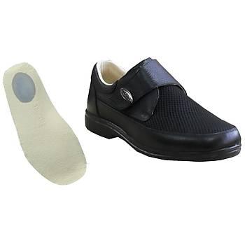 Topuk Dikeni Ayakkabýsý Erkek Yazlýk Model Siyah EPTYA51S