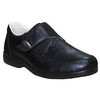 Diyabet Ayakkabısı Erkek Cırtlı Siyah OD51S (En Çok Satılan Model)
