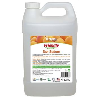 Friendly Organic Sývý El Sabunu - Kayýsý 3,78 lt