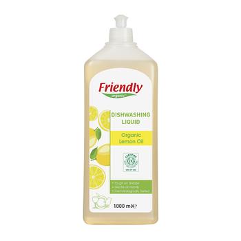 Friendly Organic Bulaþýk Deterjaný- Organik Limon Yaðý - 1000 ml