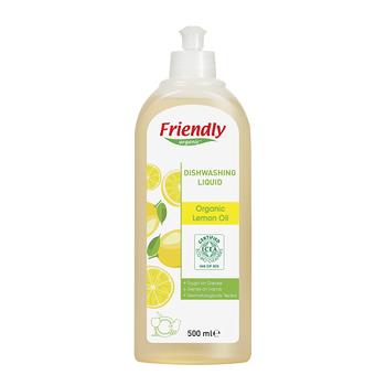 Friendly Organic Bulaþýk Deterjaný- Organik Limon Yaðý - 500 ml