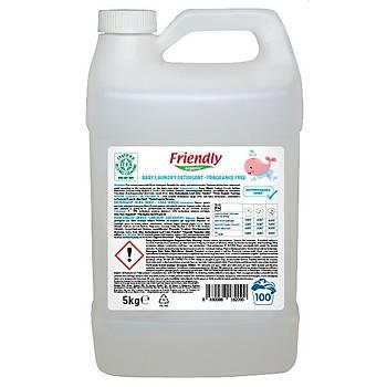 Friendly Organic Bebek Çamaþýr Deterjaný - Parfümsüz 5 L