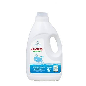 Friendly Organic Bebek Çamaþýr Deterjaný - Parfümsüz 2000 ml