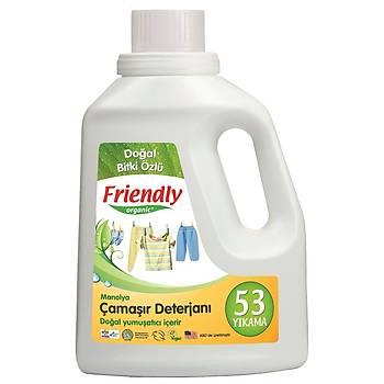 Friendly Organic Hassas Ciltler Ýçin Çamaþýr Deterjaný (53 yýkama) - Manolya