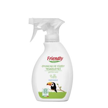 Friendly Organic Oyuncak ve Yüzey Temizleyici - Parfümsüz - 250 ml