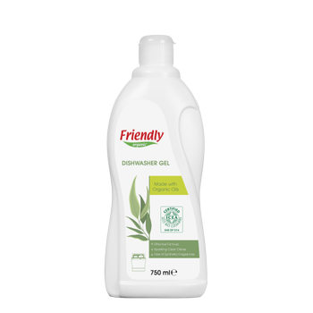 Friendly Organic Bulaþýk Makinesi Jel Deterjaný - 750 ml