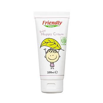 Friendly Organic Bebek Piþik Kremi 100ml - HEDÝYELÝ