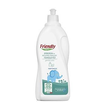 Friendly Organic Biberon ve Beslenme Gereçleri Temizleyici- Parfümsüz - 750 ml