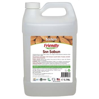 Friendly Organic Sývý El Sabunu - Badem 3,78 lt