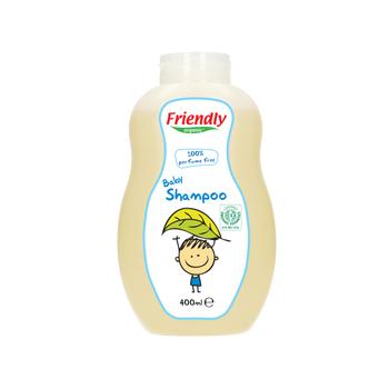 Friendly Organic Parfümsüz Bebek Þampuaný 400ml - HEDÝYELÝ