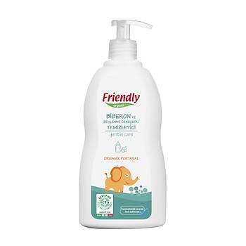 Friendly Organic Biberon ve Beslenme Gereçleri Temizleyici- Portakal - 500 ml