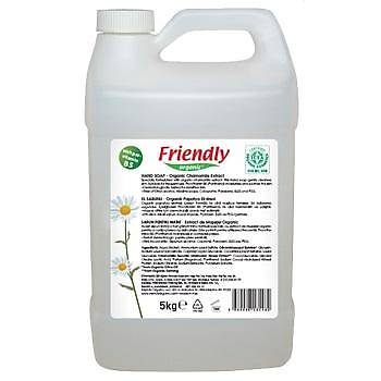 Friendly Organic Sývý El Sabunu –Organik Papatya Ekstraktý - 5 L