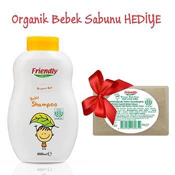 Friendly Organic Bebek Þampuaný -Yulaf - 400ml - HEDÝYELÝ