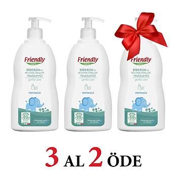 3 Adet Friendly Organic Biberon ve Beslenme Gereçleri Temizleyici- Parfümsüz - 500 ml