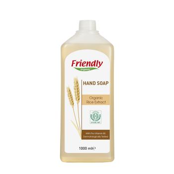 Friendly Organic Sývý El Sabunu –Organik Pirinç Ekstraktý- 1000 ml