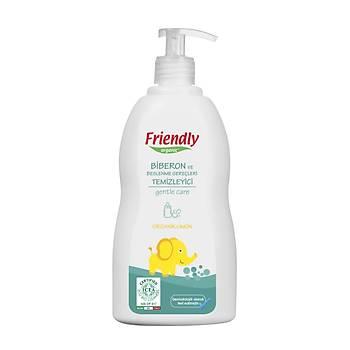 Friendly Organic Biberon ve Beslenme Gereçleri Temizleyici- Limon - 500 ml
