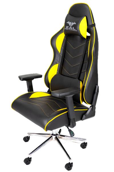 Zal - Monza Yellow Pro Gamer Üst Seviye Oyuncu Koltuðu Yarýþ Koltuðu E-Spor Koltuðu