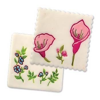 Çiçek Figürlü Pasta Kalýbý