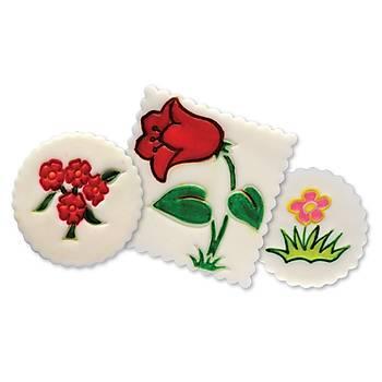 Lale Çiçek Figürlü Pasta Kalýbý