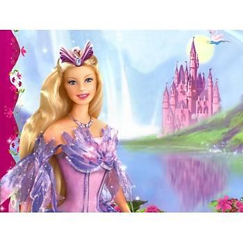 Barbie ve Þatsu Gofret Plaka Üstüne Resim