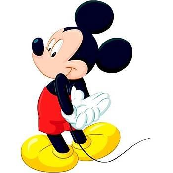 Miki Gofret Plaka Üstüne Resim