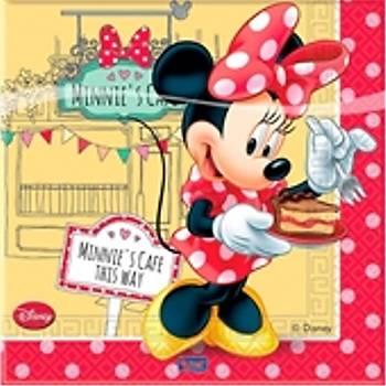 Minnie Cafe Doðum günü Peçetesi