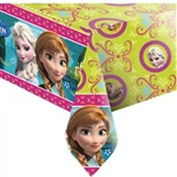 Frozen Anna Elsa Dogum Gunu Masa Örtüsü