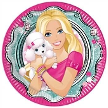 Barbie 8 li Doðum Günü Parti Tabaðý
