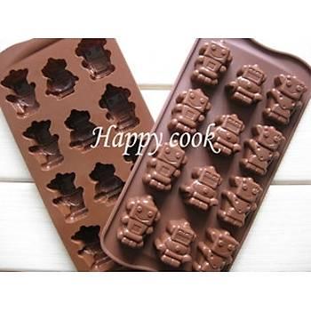 Robot  Çikolata Kalýbý